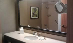 Mirror For Bathrooms Big Mirror In The Bathroom Picture Of Sheraton Dallas Hotel