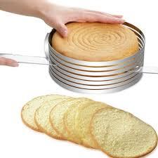 Steel Cutter Adjustable Cake Round Stainless Steel Cutter 7 8 Inch