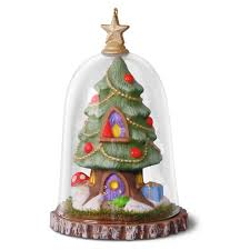 gnome for the holidays terrarium tree ornament keepsake