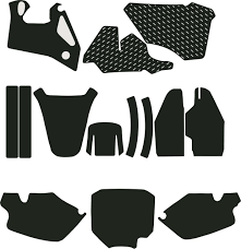 honda dirtbike templates