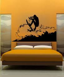 vinyl wall decal sticker surfer ac180