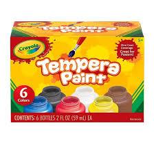 crayola tempera paint 6ct 2oz target