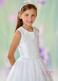 joan calabrese communion dresses joan calabrese 118314 cutout back communion dress