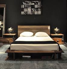 Wood Platform Bed Reclaimed Wood Platform Beds Contemporary Bedroom Chicago Wooden