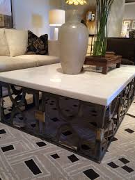 Top House 2017 Living Room White Onyx Stone Top Coffee Marble Side Table Cool