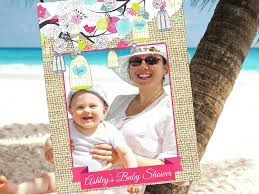 diy photo booth frame picture frame ideas for baby shower diy photo booth frame for baby