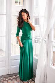 emerald green bridesmaid dress one sleeve dress convertible dress green maxi dress green