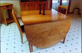 Oak Drop Leaf Table Rustic Oak Drop Leaf Gate Leg Custom Dining Table Dumond U0027s