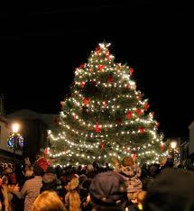 marveloushristmas tree lighting photo inspirations in