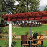 Curtains For Pergola Ez Shade Curtains Hometown Structures