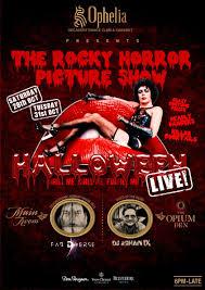 ophelia u0027s rocky horror picture show halloween live