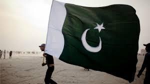 Black Jihad Flag Assam Pakistani Flag With Jihad Written On It Hoisted