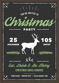 best christmas party invitations free printable great diy ideas