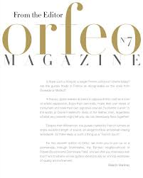 orfeo magazine 7 english edition spring 2016 by alberto