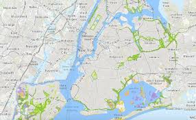 nyc oasis map maps discover the parklands in all 5 boroughs of nyc