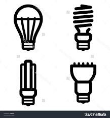 Led Light Bulbs Savings by Top Stock Vector Icon Set Of Energy Saving And Led Light Bulbs