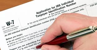 individual taxpayer identification number itin certified