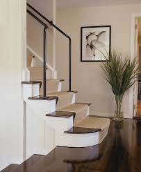 new york black stair runner staircase contemporary with wall decor