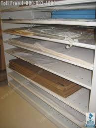 Plywood Storage Rack Free Plans by Rolled Blueprint Storage Shelving Flat File Cabinets Plan
