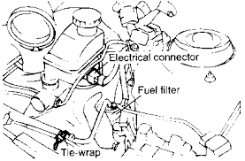 hyundai accent fuel filter solved how to replace fuel filter on 2001 elantra fixya