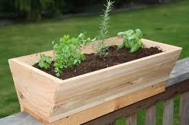 deck railing planter box plans railing planter is my hero