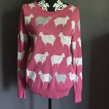 supply co sweaters 40 mossimo supply co sweaters pink sheep sweater from