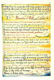 marriage proverbs proverbs of hell the marriage of heaven and hell william