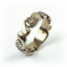 galaxy wedding rings wedding rings rustic equinox jewelers portland oregon