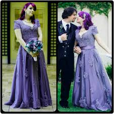 lilac dresses for weddings 20 gorgeous wedding gowns in shades of purple tagweddings