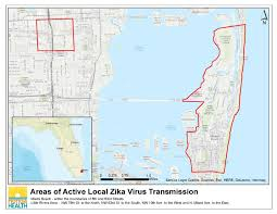 County Map Florida Department Of Health Daily Zika Update Florida Department Of Health
