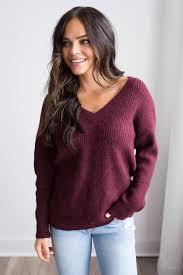 bb dakota bb dakota corley sweater burgundy