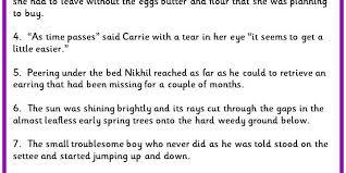 placing commas in sentences classroom secrets