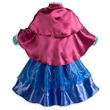 amazon com disney store frozen princess anna costume size medium