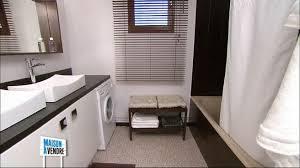 cuisine avec lave linge idée plan de travail moins cher en cuisine commun avec lave