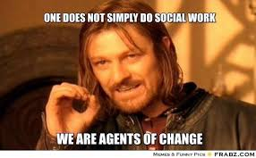 Social Worker Meme - can superheroes do more than protect the status quo can social