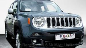 grey jeep renegade jeep renegade 1 6 multijet limited fpc02129 anvil