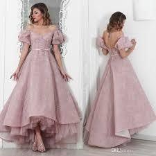 maison roula 2016 off shoulder prom dresses backless lace applique