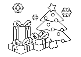 6 christmas gift coloring pages merry christmas