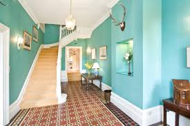 Beautiful Brown Color Nuance Modern Blue Nuance Of Interior Designs Hallways That Has Brown