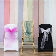 organza sashes organza chair sashes wholesale chair sashes efavormart