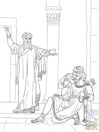 jeremiah warns the people coloring page free printable coloring