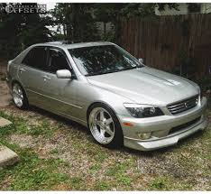 lexus is300 silver 2001 lexus is300 esr sr04 spec r lowering springs