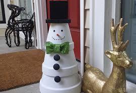 Light Up Snowman Outdoor Fairhope Al Daphne Al U2013 27 Diy Outdoor Christmas Decorations To