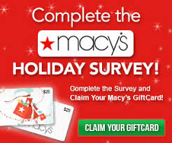 survey for gift cards get a 25 macy s gift card for free when completing a survey