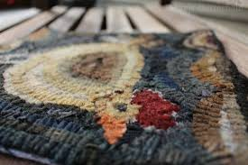 primitive rug hooking basic supplies and how i draw patterns