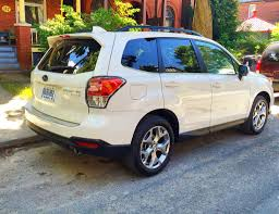 2016 white subaru forester test drive 2017 subaru forester 2 5i limited page 3 of 3