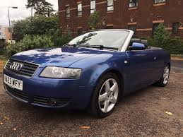 2003 audi a4 cabriolet 3 0 auto 103k 3 owners 10 mths mot in