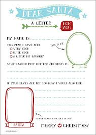 16 free letter to santa templates for kids printable letters