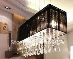 Rectangle Dining Room Light The Jacqueline Horizontal Chandelier Features Narrow Lines