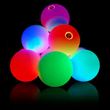 glow balls firetoys 2 75 70mm led glow juggling balls